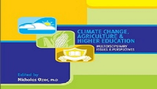 Book cover: Climate Change & Agriculture in Higher Education