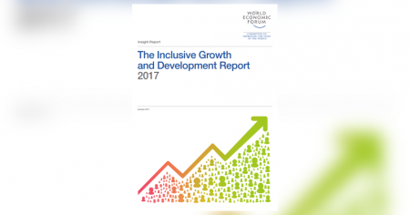 Page couverture du rapport : inclusive growth and development report 2017