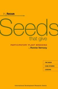 Book cover in_focus - Seeds that Give: Participatory Plant Breeding