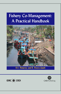 Couverture du livre Fishery Co-Management : A Practical Handbook