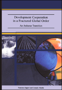 Couverture du livre Development Cooperation in a Fractured Global Order: An Arduous Transition