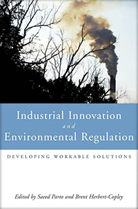 Couverture du livre Industrial Innovation and Environmental Regulation : Developing Workable Solutions