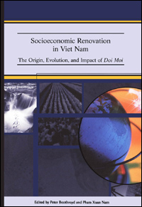 Couverture du livre Socioeconomic Renovation in Viet Nam : The Origin, Evolution, and Impact of Doi Moi
