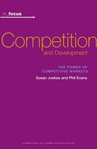 Book cover in_focus - Competition and Development: The Power of Competitive Markets
