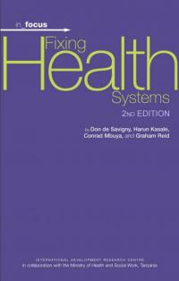 Book cover in_focus - Fixing Health Systems (2nd edition)