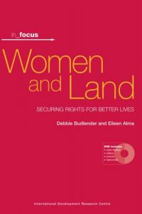 Book cover in_focus - Women and Land: Securing Rights for Better Lives