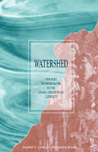 Couverture du livre Watershed : The Role of Fresh Water in the Israeli-Palestinian Conflict
