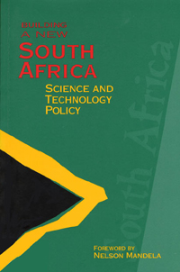 Couverture du livre Building a New South Africa Volume 3 : Science and Technology Policy