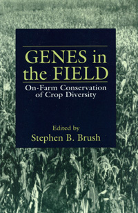 Book cover Genes in the Field: On-Farm Conservation of Crop Diversity