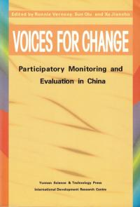 Book cover Voices for Change: Participatory Monitoring and Evaluation in China