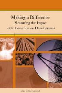 Couverture du livre Making a Difference : Measuring the Impact of Information on Development