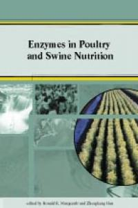 Couverture du livre Enzymes in Poultry and Swine Nutrition