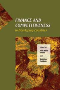 Couverture du livre Finance and Competitiveness in Developing Countries