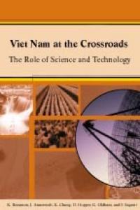 Couverture du livre Viet Nam at the Crossroads : The Role of Science and Technology