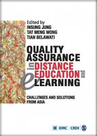Couverture du livre Quality Assurance in Distance Education and eLearning : Challenges and Solutions from Asia