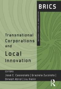 Couverture du livre Transnational Corporations and Local Innovation
