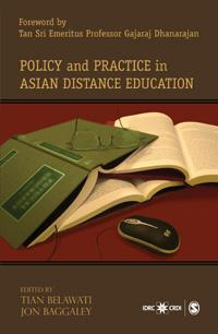 Couverture du livre Policy and Practice in Asian Distance Education