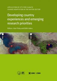 Couverture du livre Application of ICTs for Climate Change Adaptation in the Water Sector: Developing Country Experiences and Emerging Research Priorities