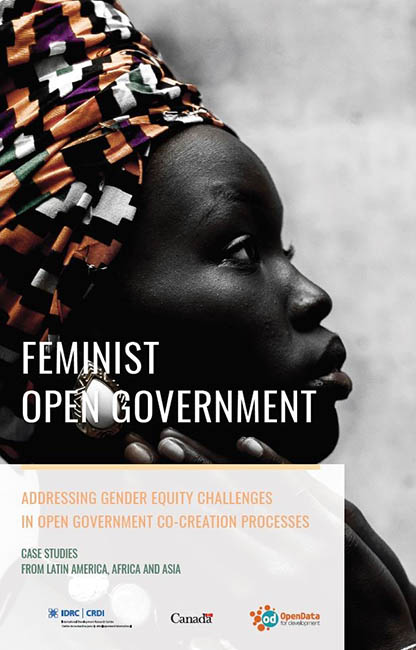 Cover image of Feminist Open Government: Addressing gender equity in open government co-creation processes