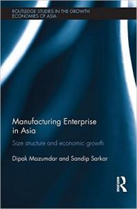 Couverture du livre Manufacturing Enterprise in Asia