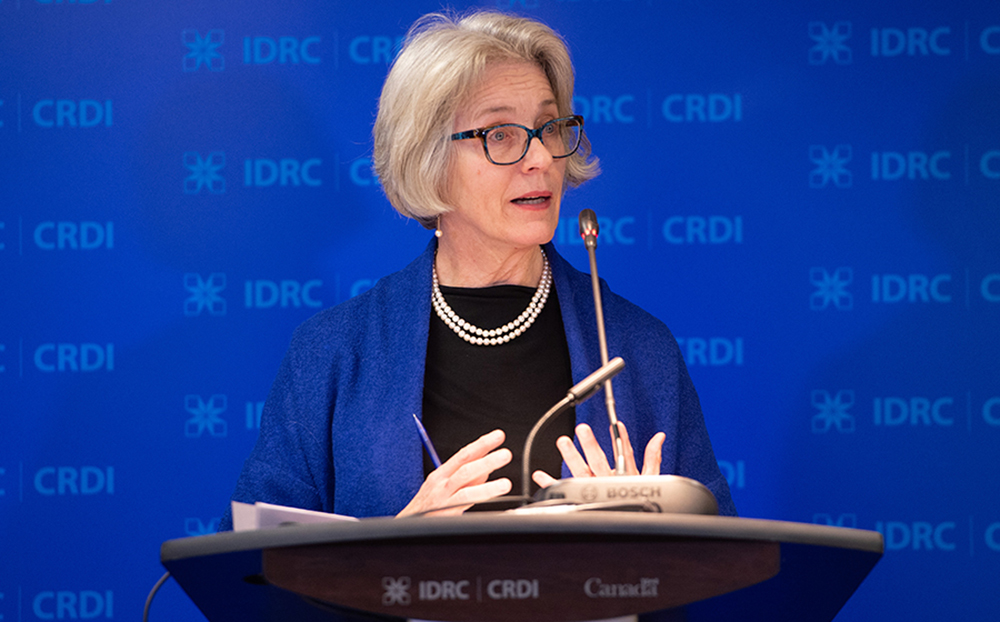 Margaret Biggs IDRC Annual Public Meeting Nov 2018