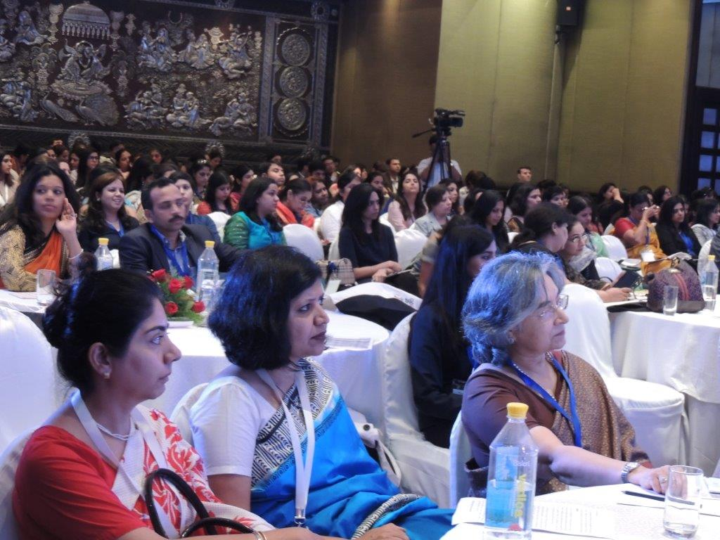 Participants au forum « Think Big: Women in Business » à Delhi